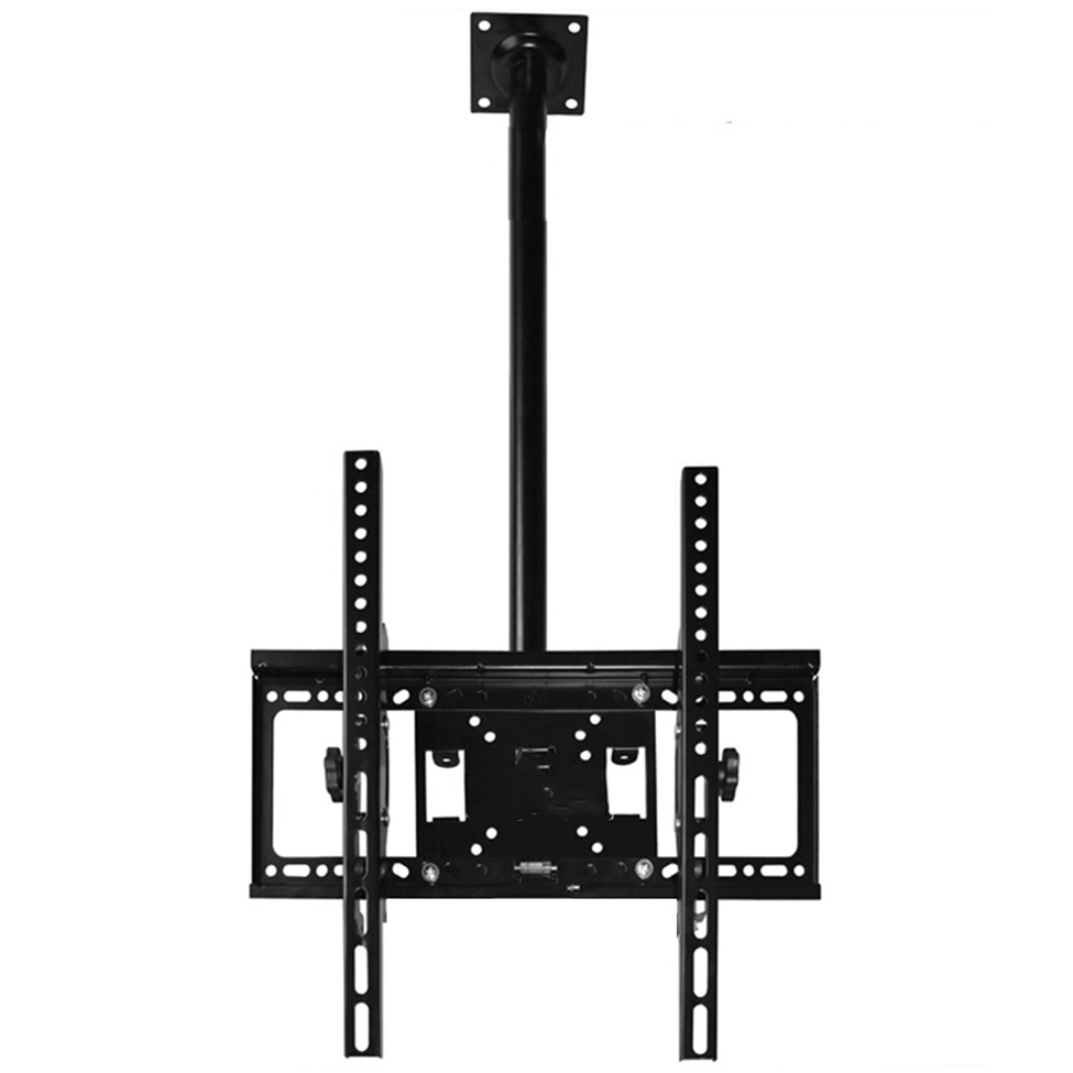 tv ceiling mount height adjustable and tilt for lcd led screen 32 to 55 usa ap. Black Bedroom Furniture Sets. Home Design Ideas