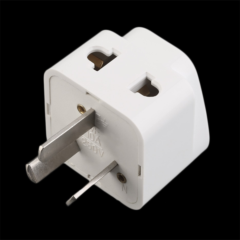 3 pin chinese power plug adapter travel converter. Black Bedroom Furniture Sets. Home Design Ideas