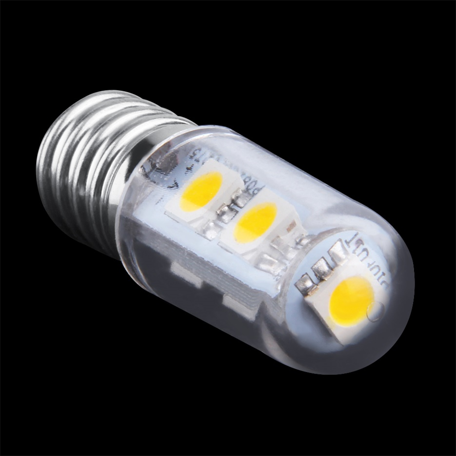 ac 220v e14 1w 7 led 5050 smd pure warm white refrigerator light bulb lamp xy ebay. Black Bedroom Furniture Sets. Home Design Ideas