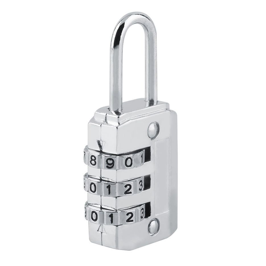 3 4 Dial Combination Padlock Locker Door Toolbox Luggage