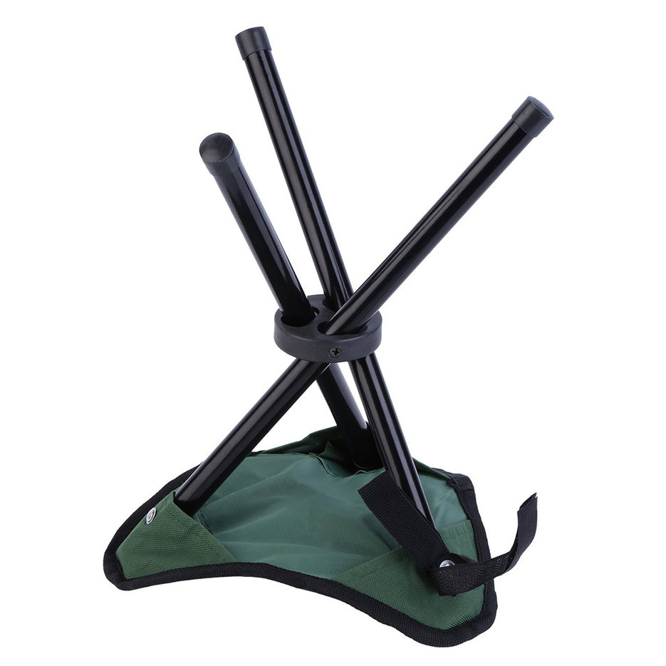 Outad Folding Hiking Backpacking Tripod Stool For Outdoor