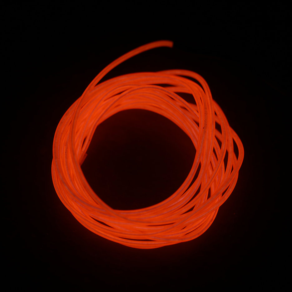 M colorful flexible el wire tube rope neon light glow