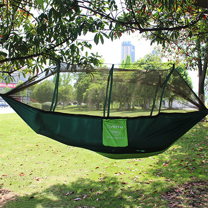 Mosquito Net Double Hammock Stitching Color Lightweight