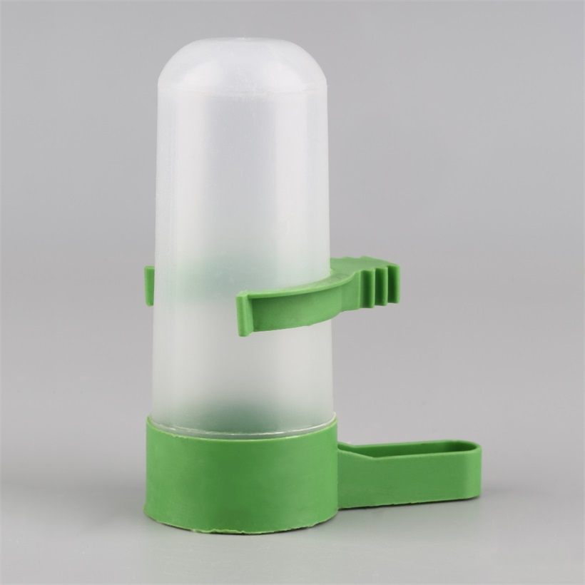 Clear plastic water fountain drinking bowl bottle for