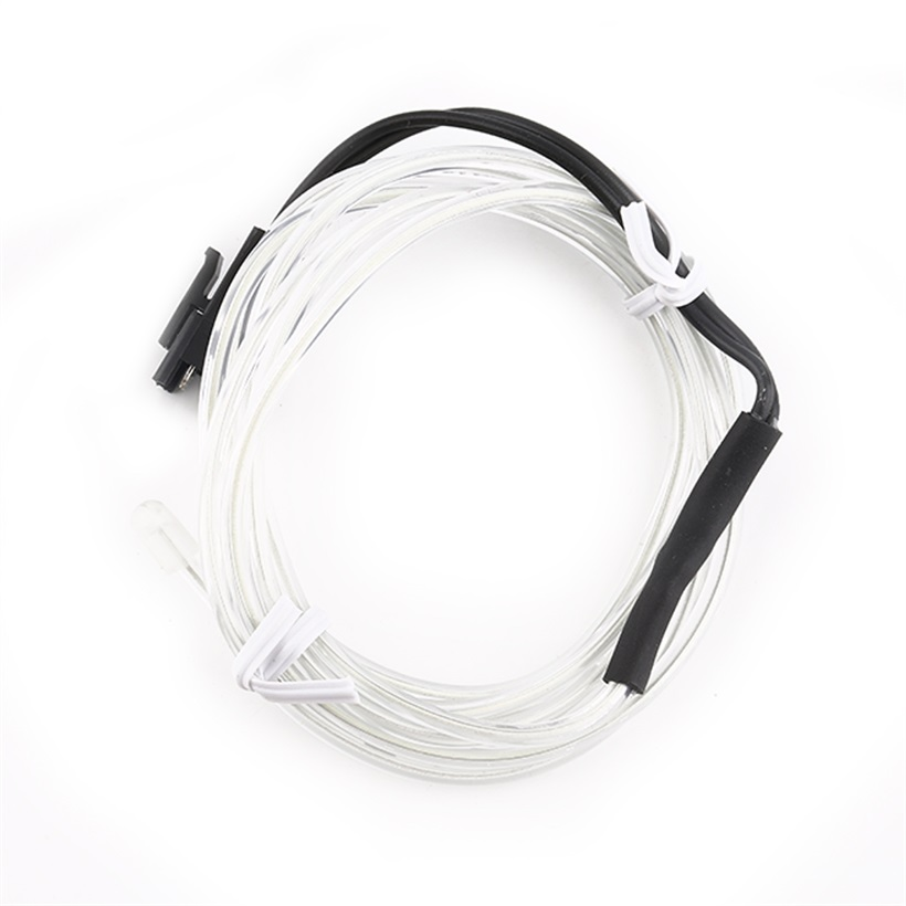 1M Colorful Flexible EL Wire Tube Rope Neon Light Glow Car Party ...
