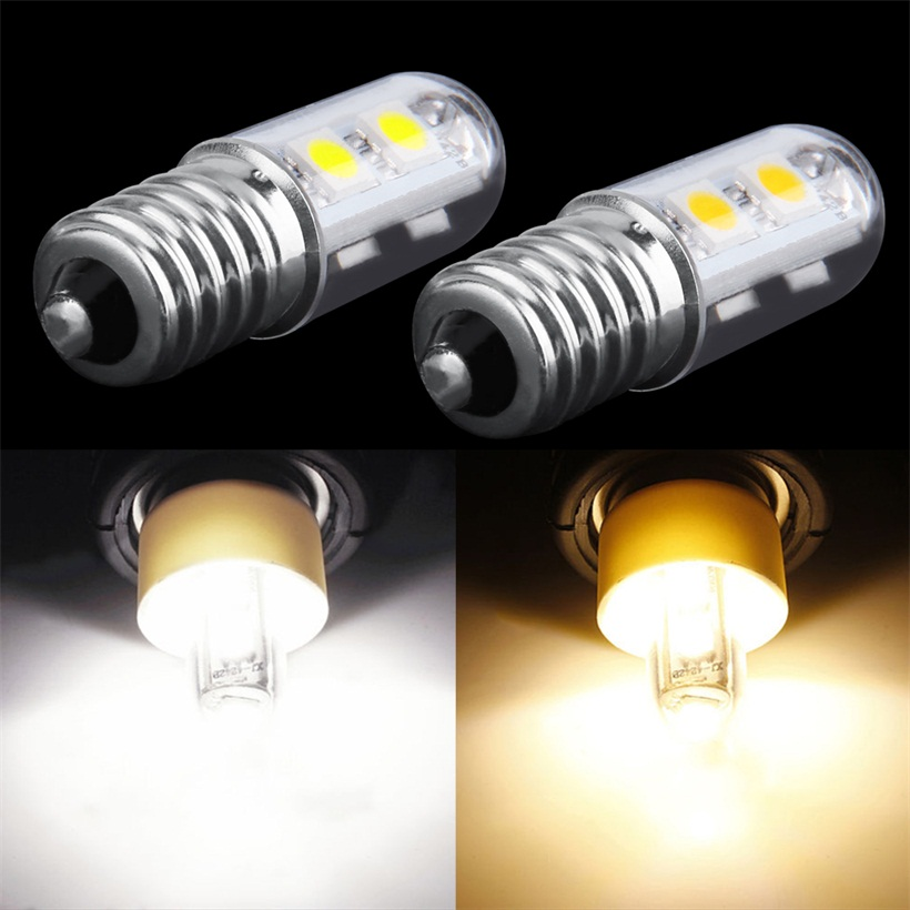 ac 220v e14 1w 7 led 5050 smd pure warm white refrigerator light bulb lamp sy ebay. Black Bedroom Furniture Sets. Home Design Ideas
