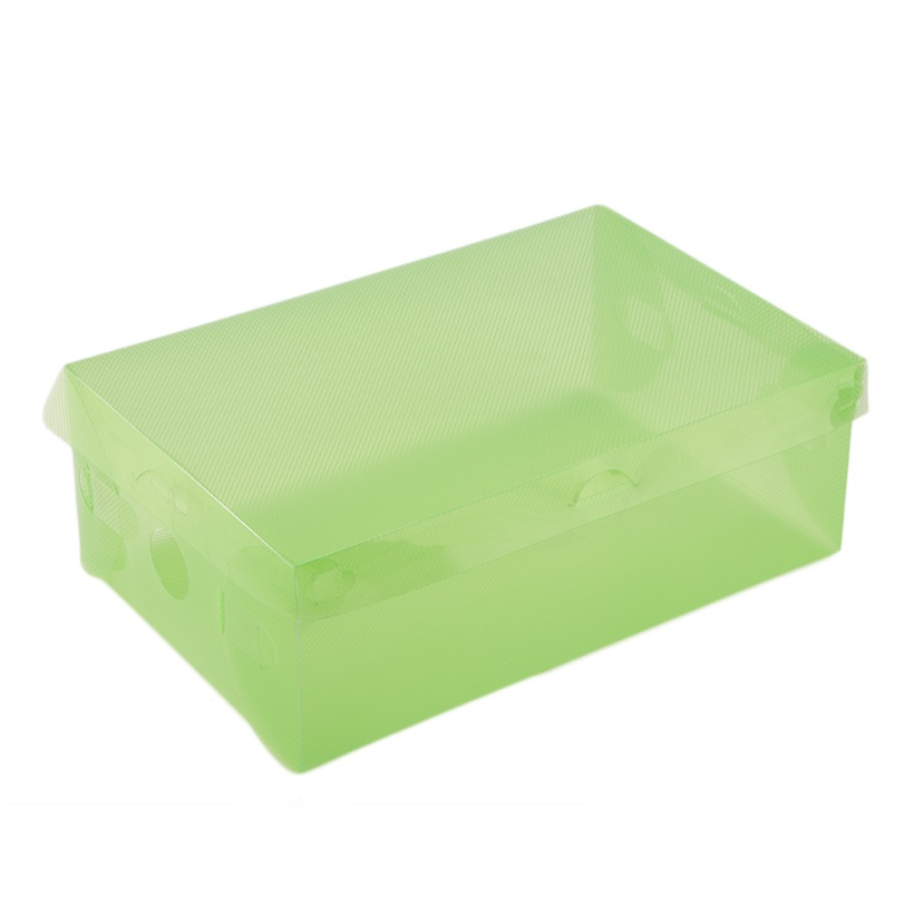 Landscape Plastic Thickness : Stackable storage box thick boot shoe organizer