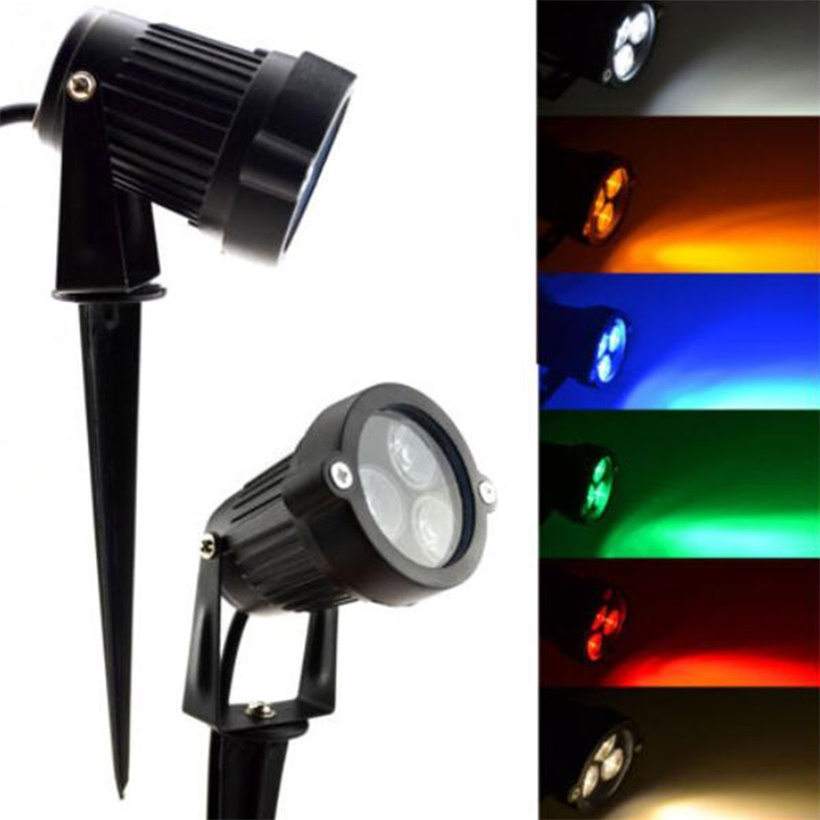 12v led spike light bulb lamp spotlight outdoor garden yard landscape jld ebay. Black Bedroom Furniture Sets. Home Design Ideas