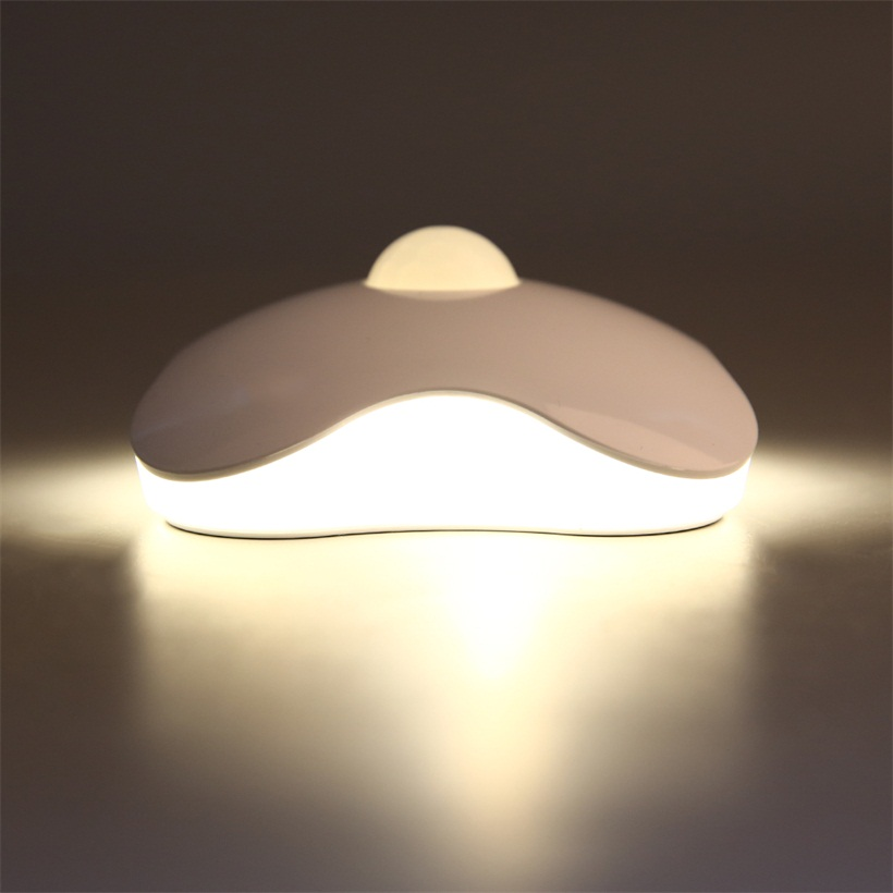 Operated LED Bedside Wall Light Clover Motion Sensor Night