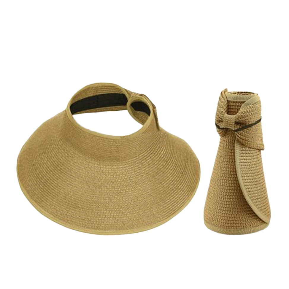 summer sun folding roll up wide brim