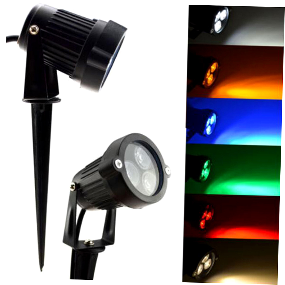 12v led spike light bulb lamp spotlight outdoor garden yard path landscape wb ebay. Black Bedroom Furniture Sets. Home Design Ideas