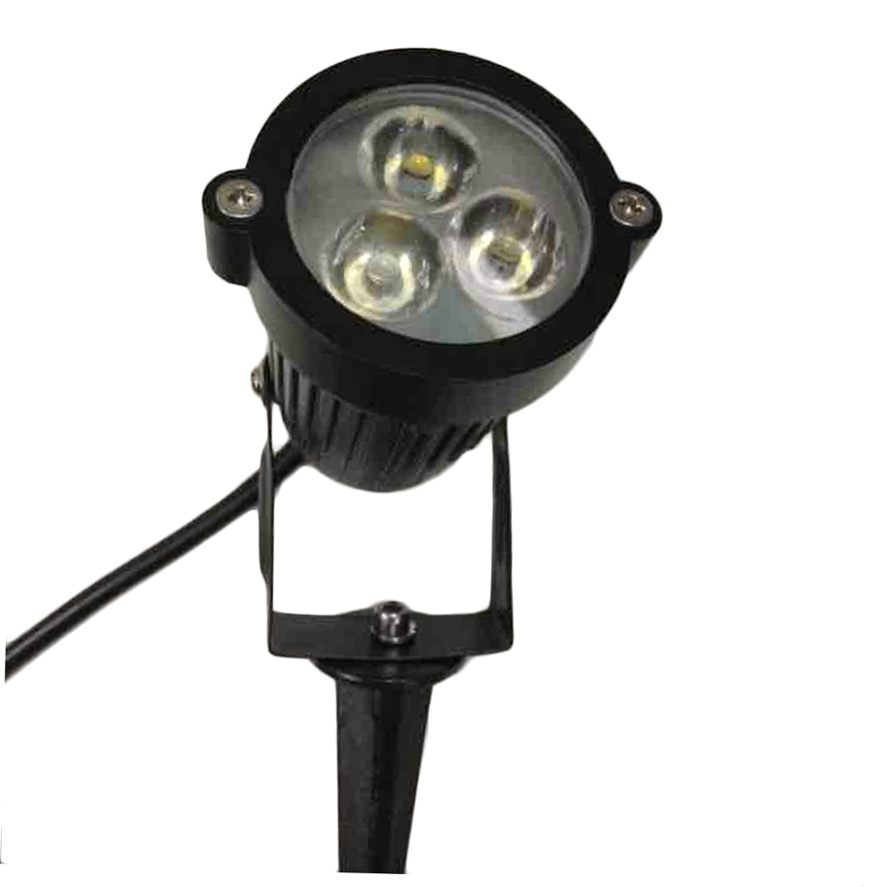 12v led spike light bulb lamp spotlight outdoor garden for Led yard lights