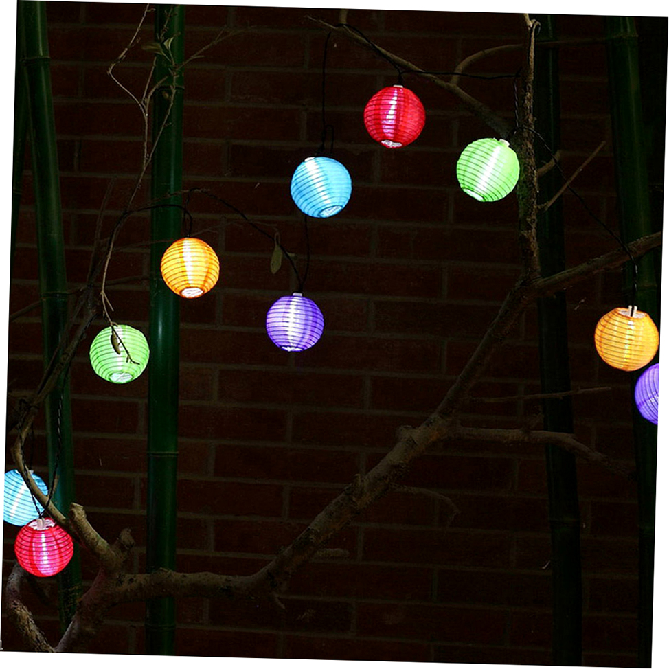 20 LED Bird Cage Outdoor Garden LED Solar Hanging Lantern String Light WB eBay