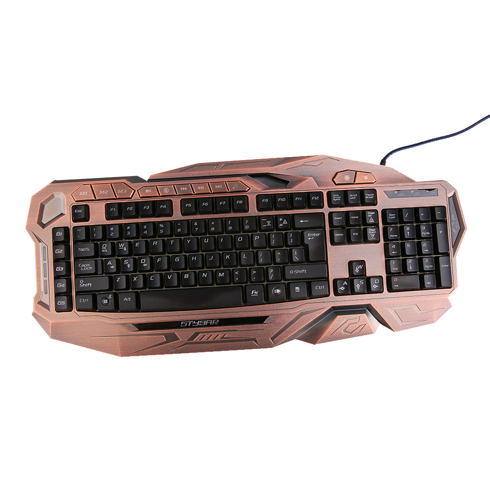 gx999 led multicolor clavier m canique prix pas cher cdiscount. Black Bedroom Furniture Sets. Home Design Ideas