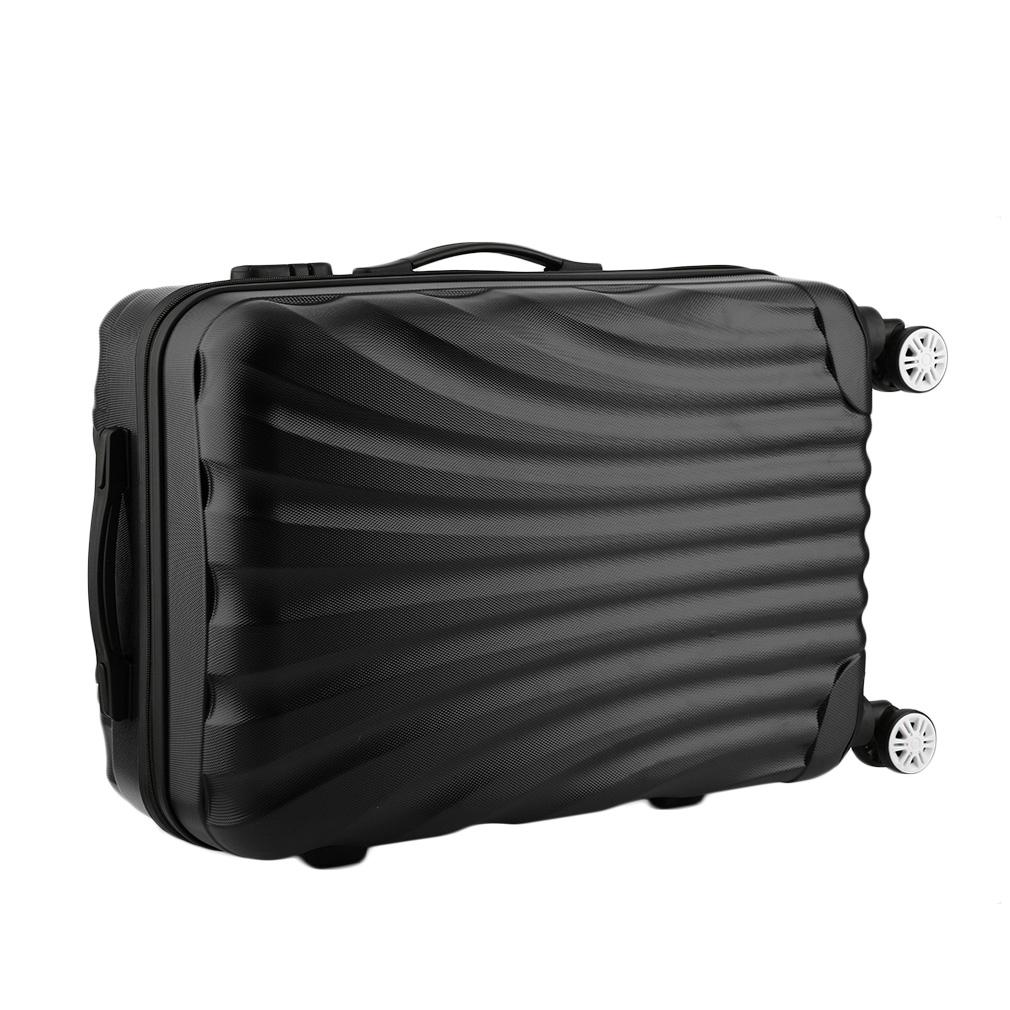 hard shell 4 wheels spinner suitcase set luggage trolley. Black Bedroom Furniture Sets. Home Design Ideas