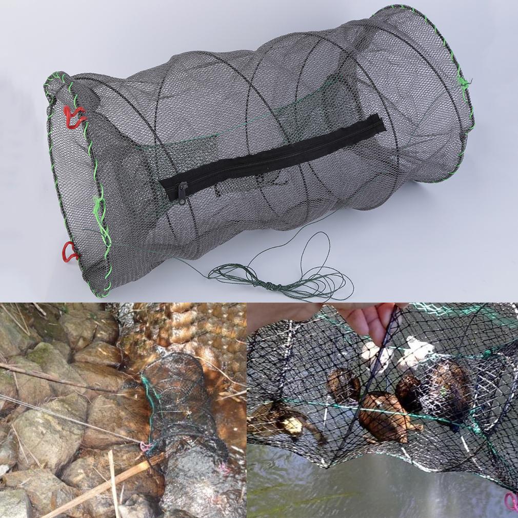 Crab crayfish lobster catcher pot trap fish net eel prawn for Fish trap net