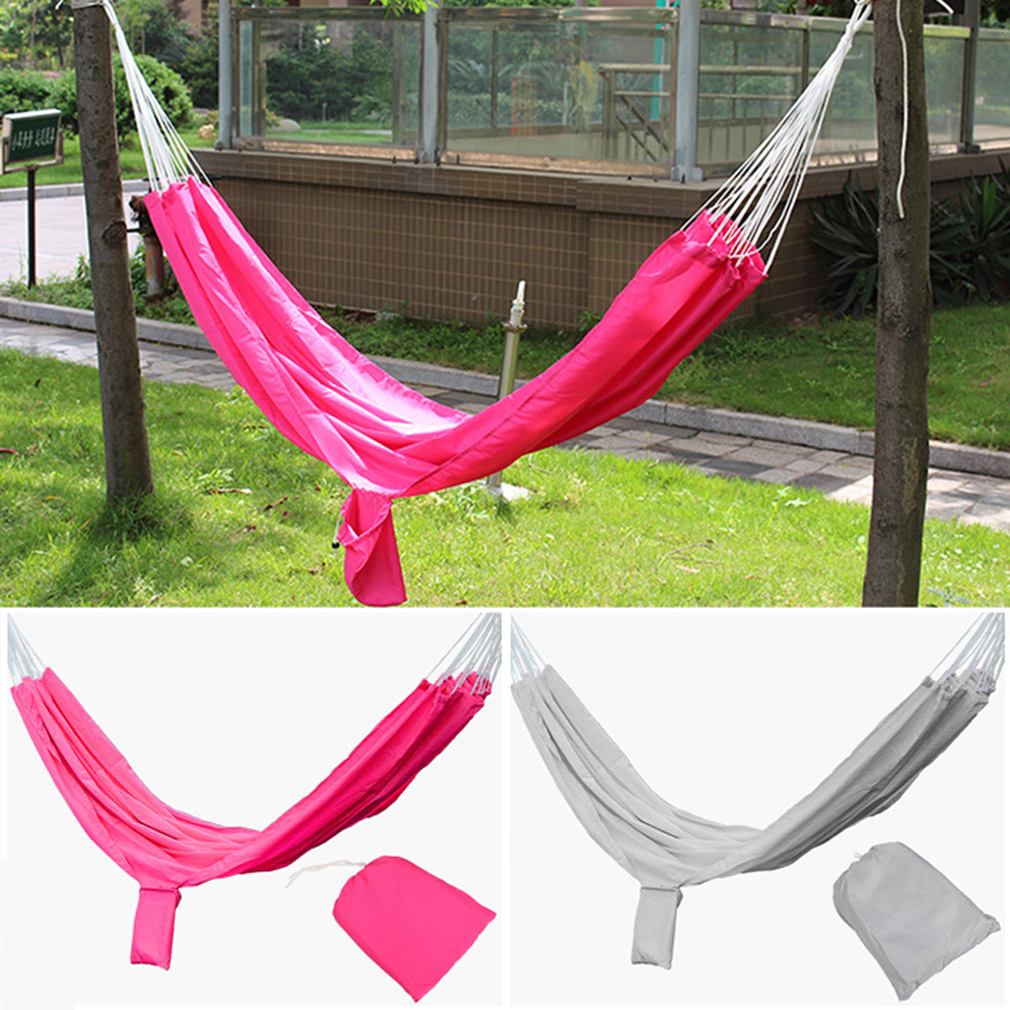 new travel camping outdoor hammock parachute bed portable