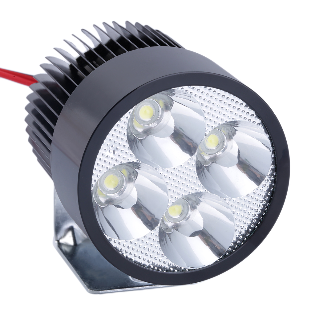 12v 85v 20w super bright led spot light head lamp motor bike car motorcycle dg. Black Bedroom Furniture Sets. Home Design Ideas