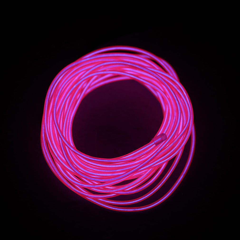 1 5m flash flexible neon led light glow el strip tube wire. Black Bedroom Furniture Sets. Home Design Ideas
