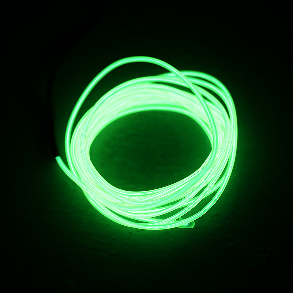 1 5m flash flexible neon led light glow el strip tube wire rope car party light ebay. Black Bedroom Furniture Sets. Home Design Ideas