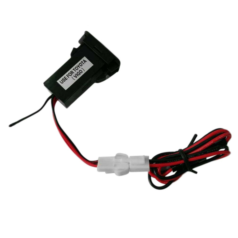 12V Cargador de zócalo doble mechero Coche adaptador de corriente USB S99 Divisor