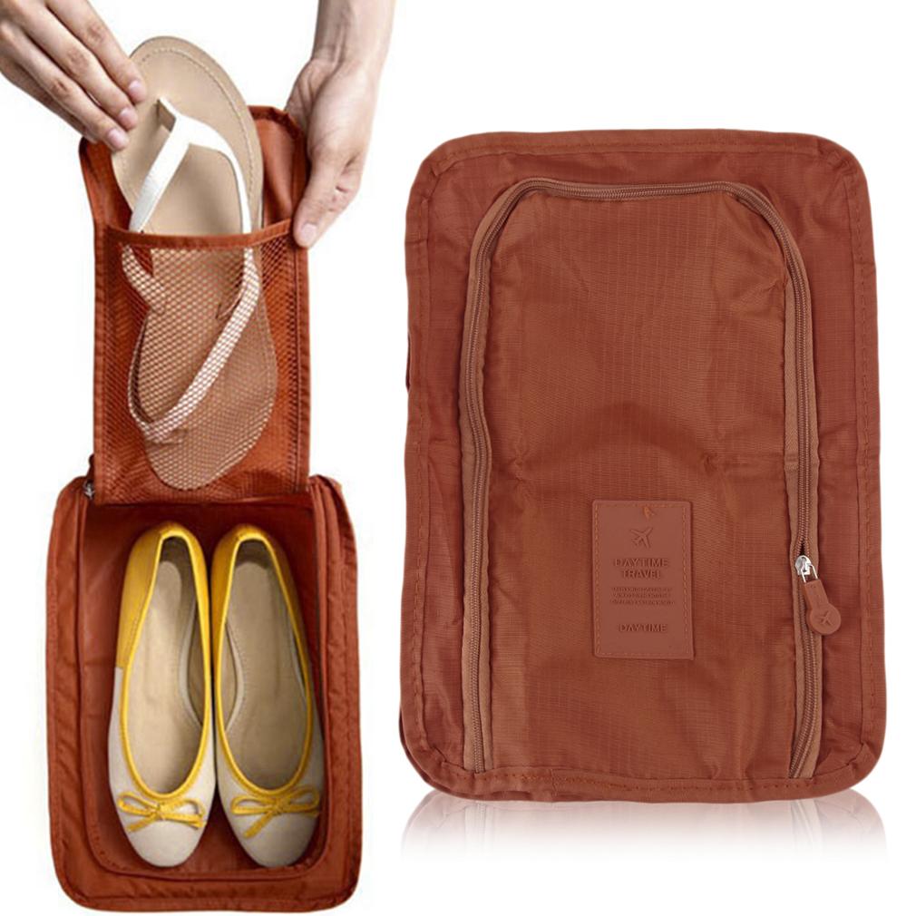 zapato color naranja: