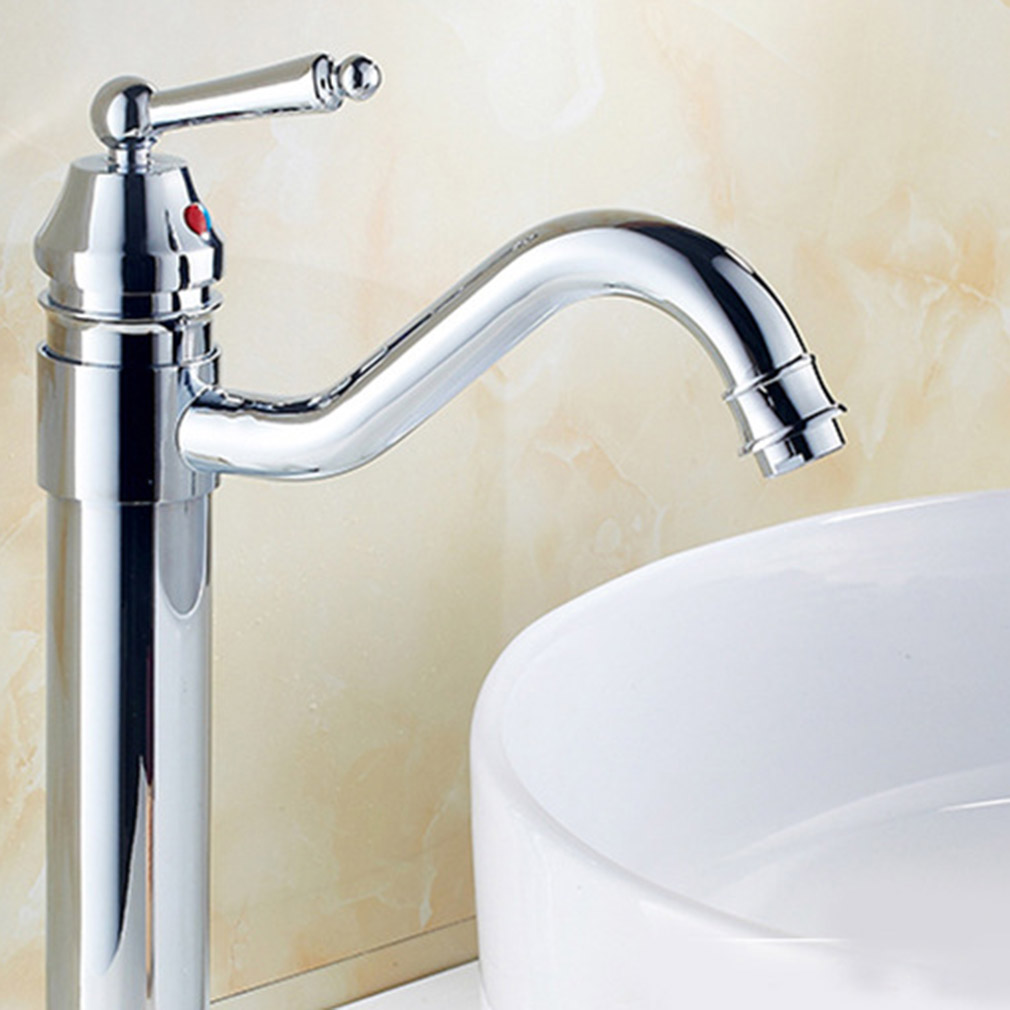 18 16 Kitchen Sink Faucet Chrome Nickel Pull Out Spray Swivel Spo