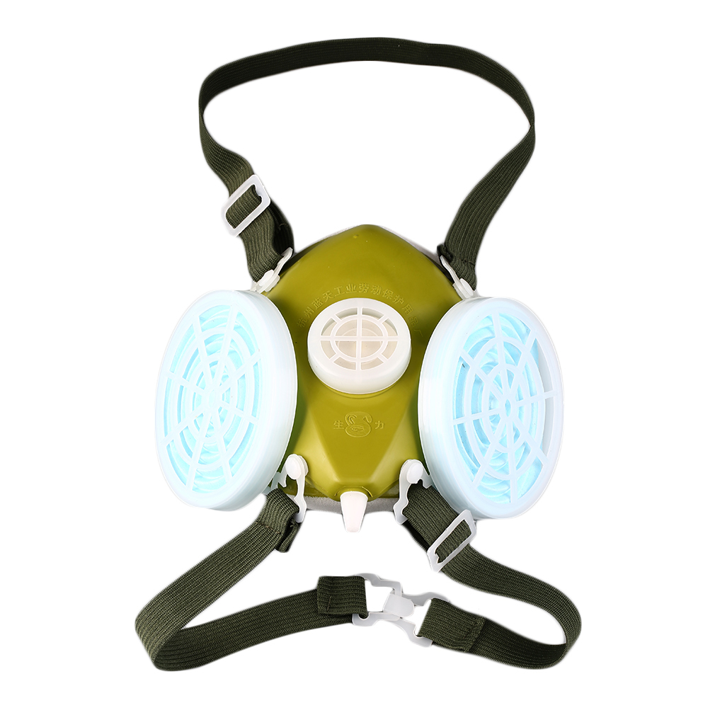 Dual Respirator Gas Mask Anti-Dust (end 12/10/2017 7:44 PM)