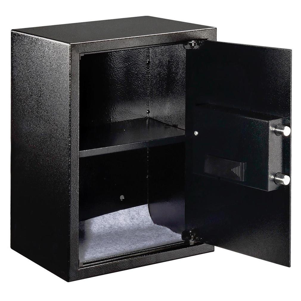 extra large electronic digital lock keypad safe box home security cash black ge. Black Bedroom Furniture Sets. Home Design Ideas