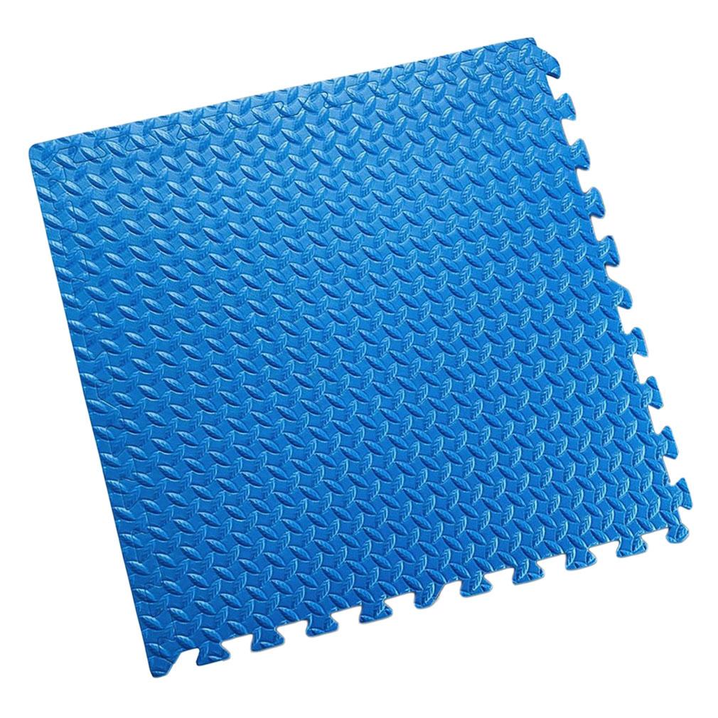 24 240 sqft wood blue black gray interlocking floor mats for Foam flooring