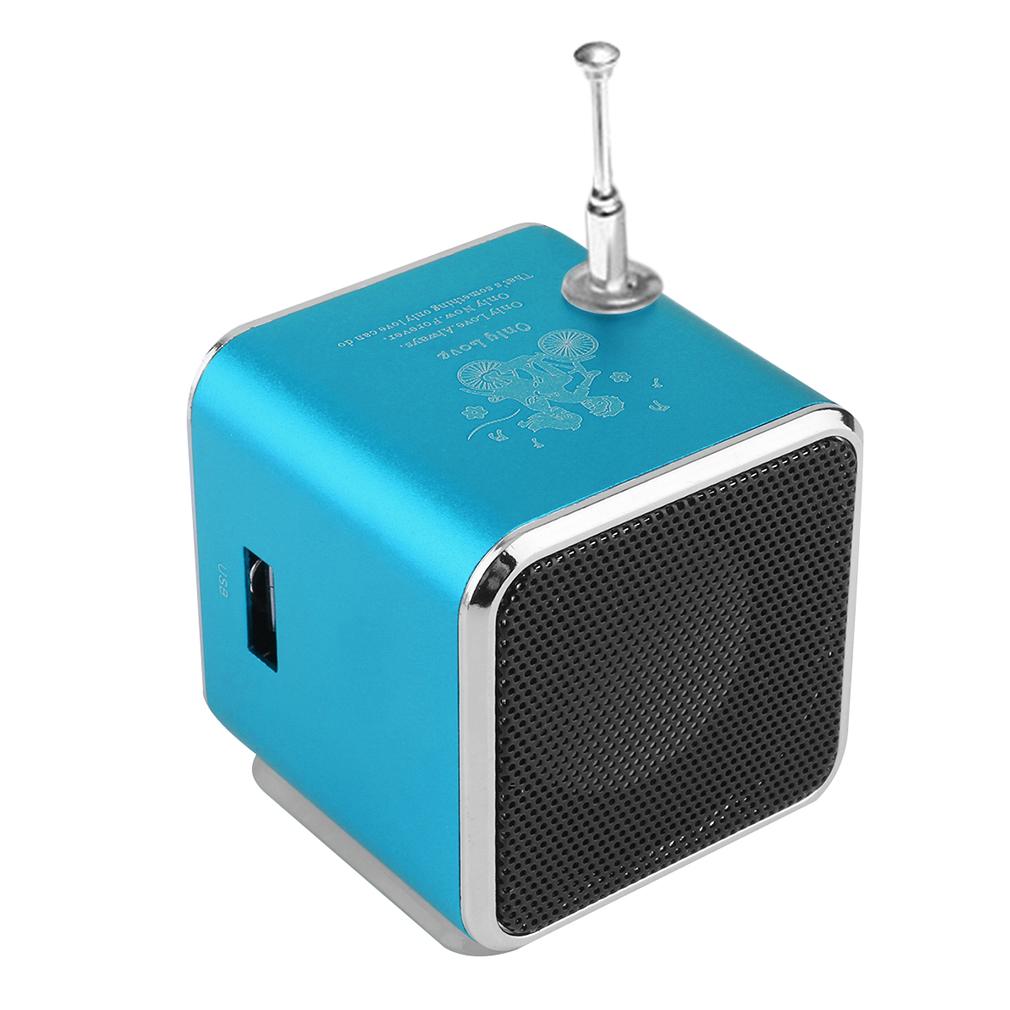 Portable Micro USB Mini Stereo Super Bass Speaker Music