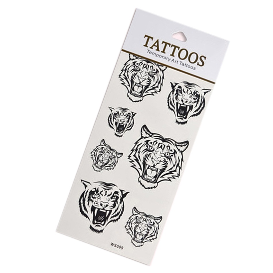 Diy beauty body art temporary tattoo removable waterproof for Temporary tattoo sticker