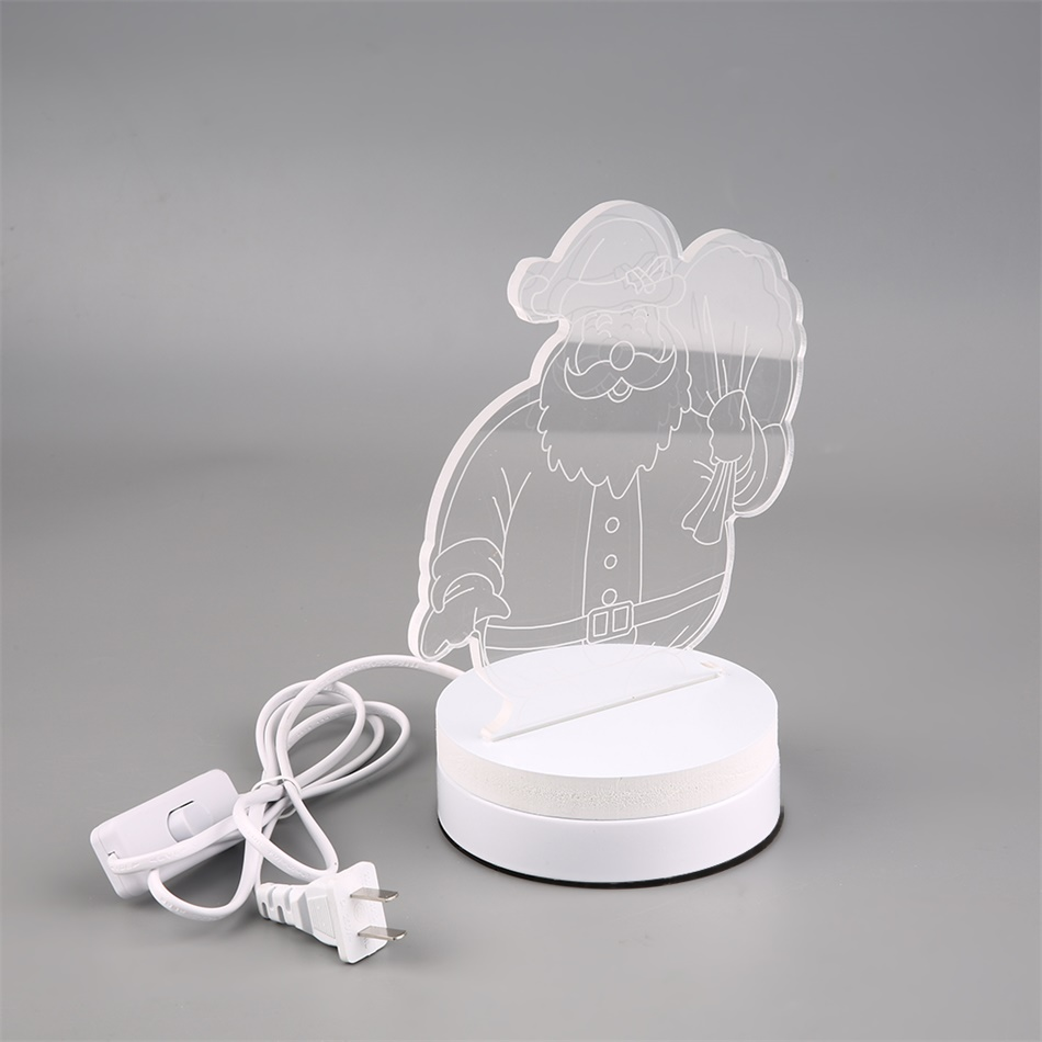 3D Luminous USB Optical Illusion Micro LED Night Light