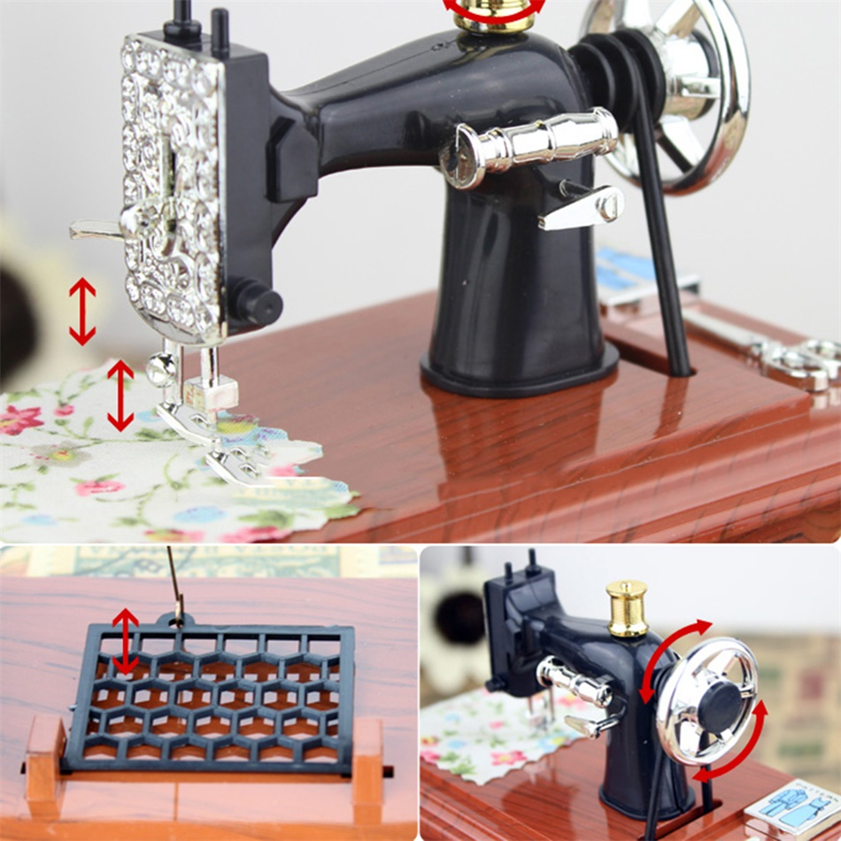 retro music box sewing machine music box fine arts and ForArts And Crafts Sewing Machine