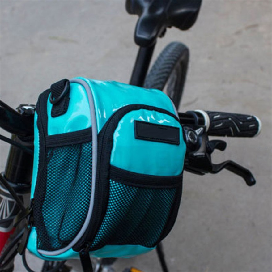 Triangle Cycling Bike Bicycle Front Tube Frame Saddle Waterproof Bag Phone Pouch