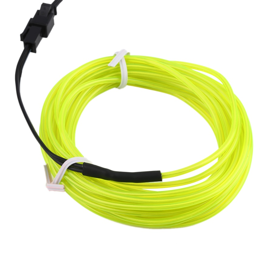 El wire tube rope neon light glow controller car party bar