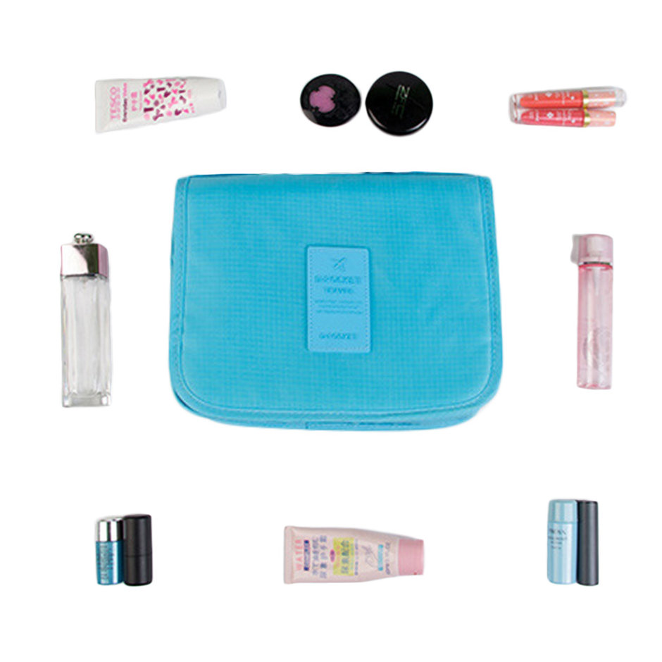 Women Makeup Cosmetic Toiletry Wash Travel Organizer Case