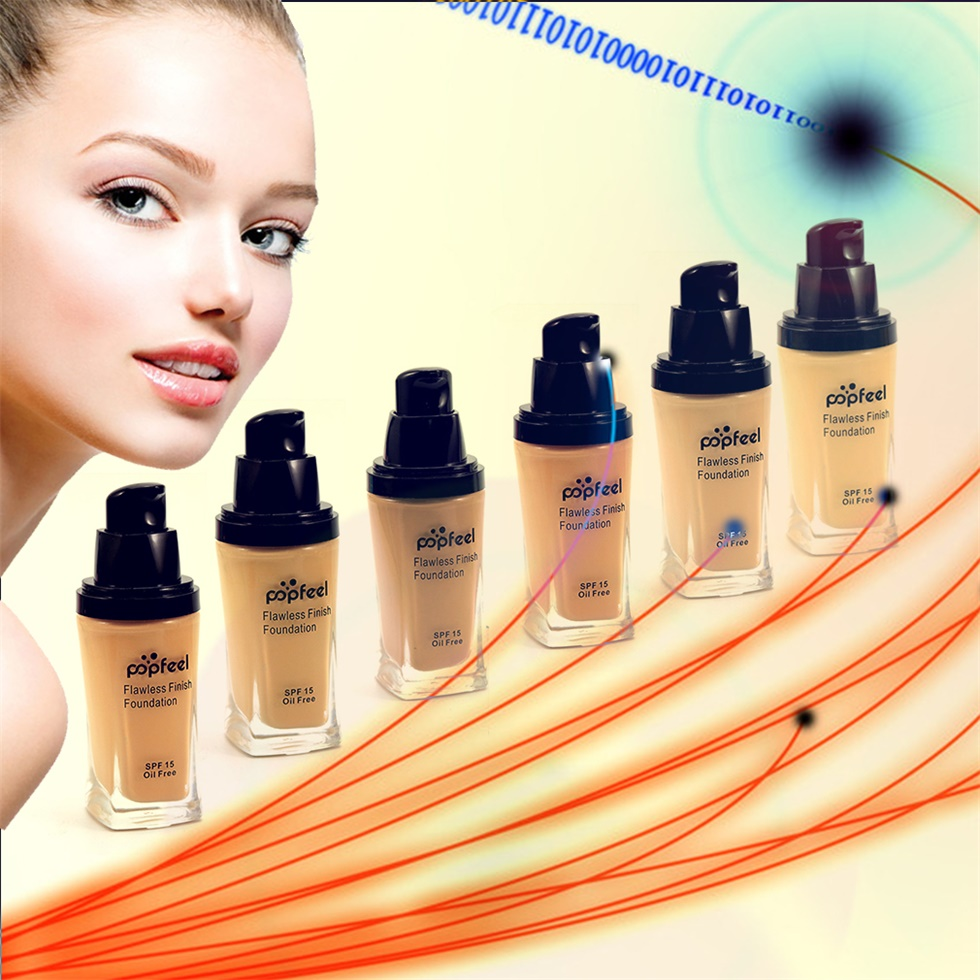 POPFEEL MakeUp Perfection Foundation Full Coverage Flawless Matte Finish F5
