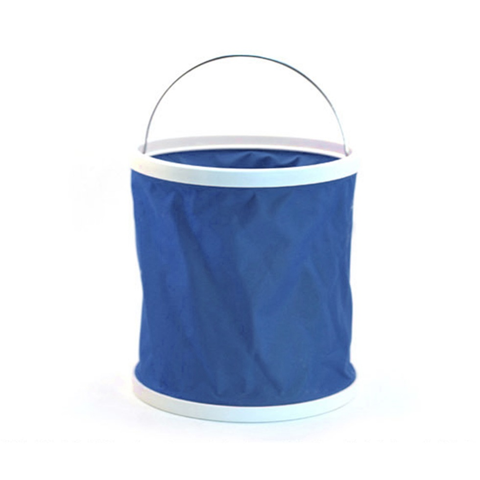 Folding collapsible bucket barrel water container car washing outdoor use l0 ebay - Gallon bucket garden container ...