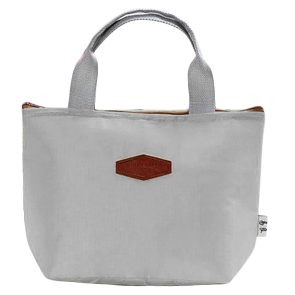 Insulated Carrying Bag : Portable thermal insulated cooler lunch box travel picnic