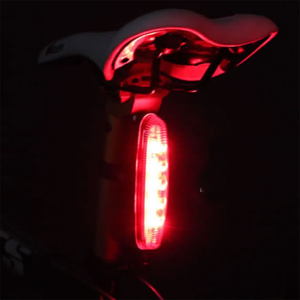Super Bright 5 LED 4 Modes Rear Tail Light Bike Bicycle 4 Modes Safety Lamp