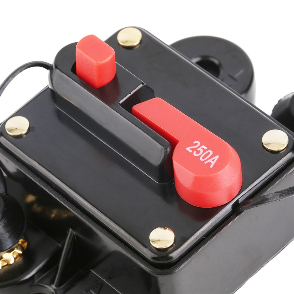 car audio fuse holder with switch power supply protector. Black Bedroom Furniture Sets. Home Design Ideas