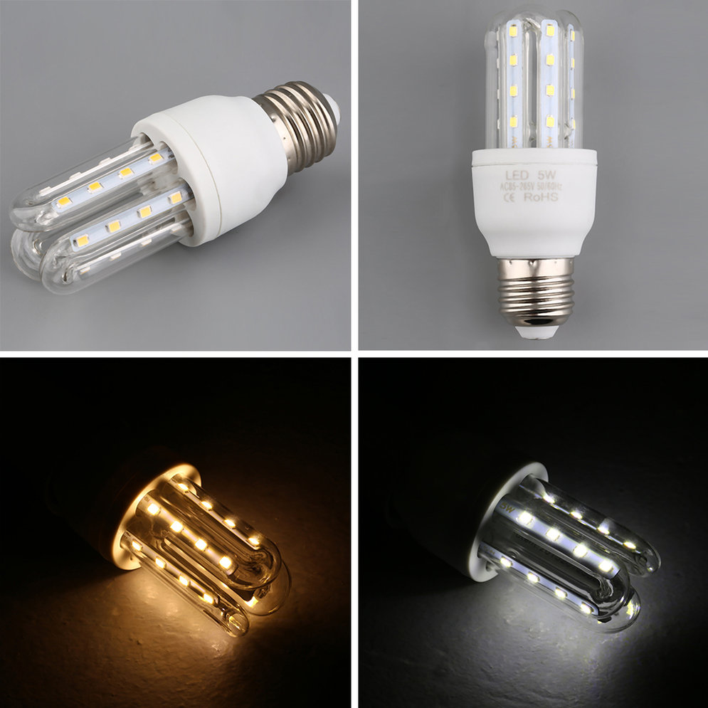 New Efficient Led Light Energy Saving A Spotlight 5w Bayonet Lamps Bulbs F7 Ebay