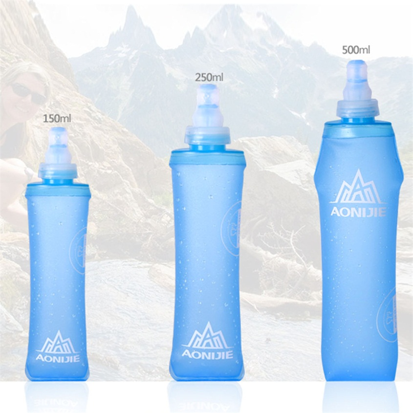 Squishy Water Bottles : Soft Touch Water Bottle Outdoor Sports Cycling Travel Camping Portable HG eBay