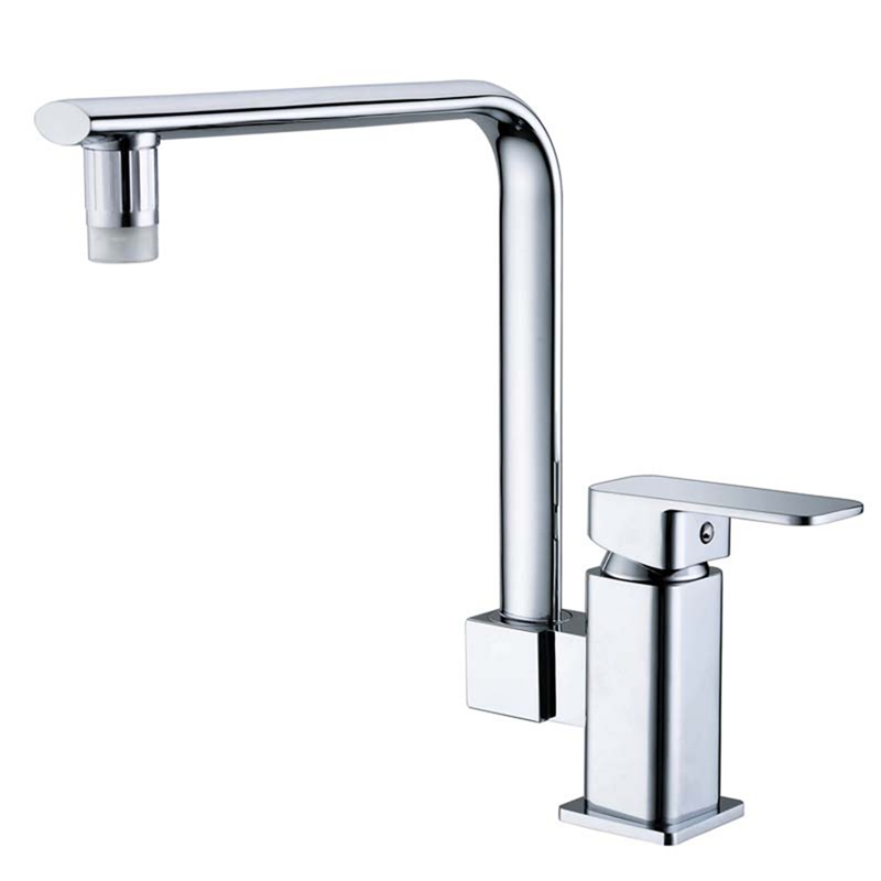 Modern automatic led glow water tap faucet kitchen