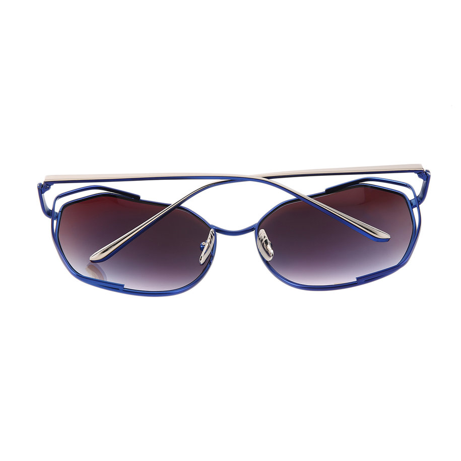Big Frame Sunglasses : Metal Eyewear Fashional Sunglasses Big Frame Personality ...