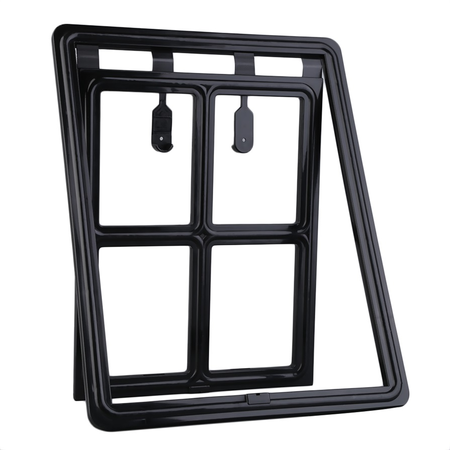 Lockable Automatic Closing Flap Pet Door for Sized