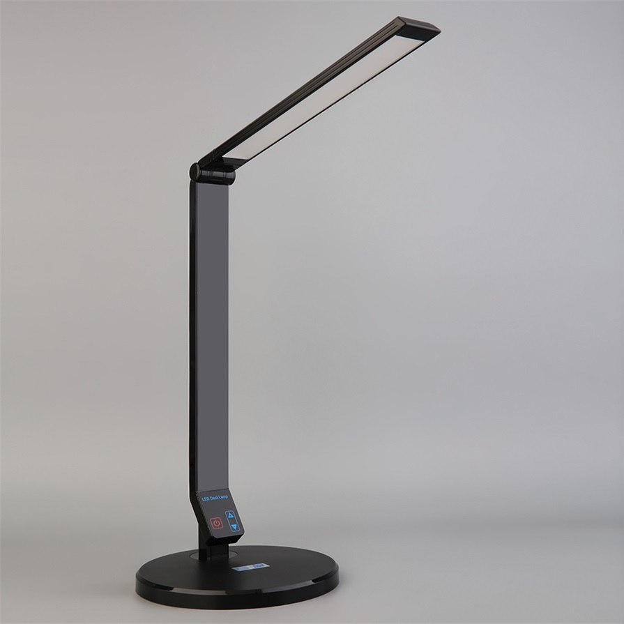 led light desk lamp table flexible dimmable touch reading foldable hg. Black Bedroom Furniture Sets. Home Design Ideas
