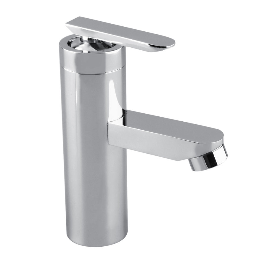 Single Handle Waterfall Bathroom Faucet : ... Chrome Waterfall Bathroom Basin Faucet Single Handle Sink Mixer Tap KG