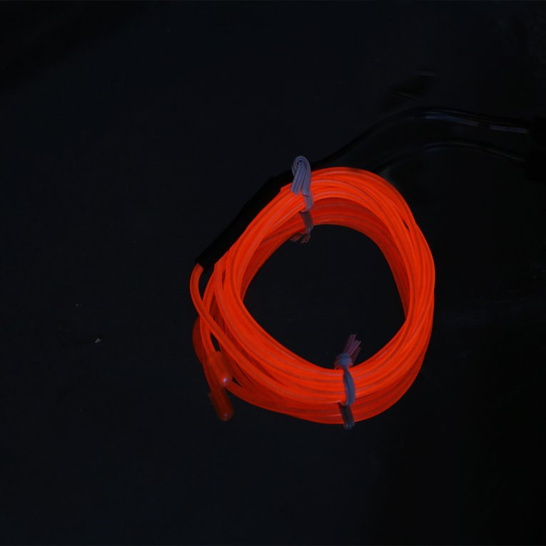 3M Colorful Flexible EL Wire Tube Rope Neon Light Glow Car Party ...